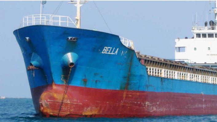 توقیف کشتی یونانی
